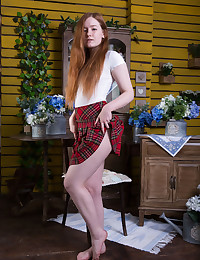Anicka naked in erotic MY FLOWER gallery