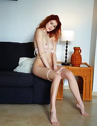 Adel C nude in erotic Red gallery
