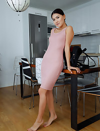 Kimiko nude in erotic AROUND THE HOUSE gallery
