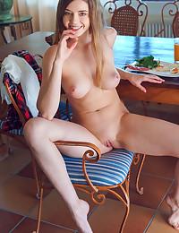 Kay J naked in erotic BREAKFAST WITH KAY J gallery - MetArt.com