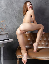 Gracie nude in glamour SMOOTH LEATHER gallery