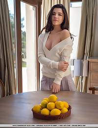 Hayli Sanders nude in glamour LIFE WITH LEMONS gallery