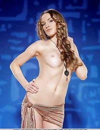 Womanly curves, puffy nipples, jaw-dropping body, enhanced by delightfully engaging personality.