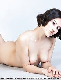 Bushy stunner with foxy attractiveness and womanly physique.