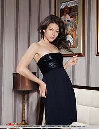 Jackie's hypnotizing beauty, coupled by will not hear of astonishing physique and trendy confidence makes will not hear of more tremendous as A she naughtily unwraps will not hear of ebony dress.