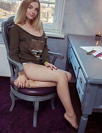 Daniel River naked in glamour SALDEN gallery - MetArt.com